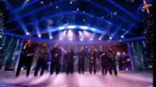 Westlife And JLS performing Flying Without Wings On Xfactor 2008 (HQ)