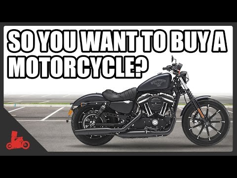 Before buying a motorcycle... things to consider!
