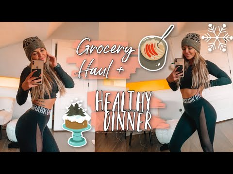 Grocery Haul *naughty* and a Tasty Dinner!! *healthy* HAPPY VLOGMAS
