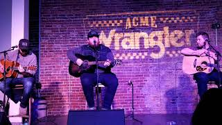 Luke Combs (w/Jonathan Singleton and Randy Montana) - Beer Never Broke My Heart (2/26/18) Nashville