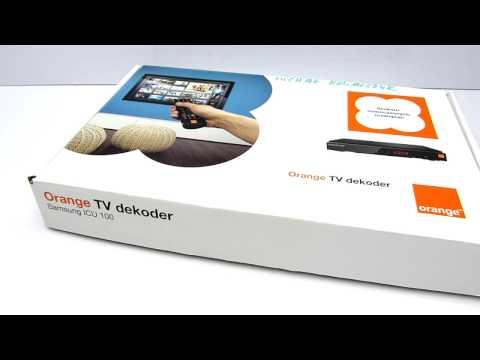 Orange TV Samsung ICU 100 Demo Preview