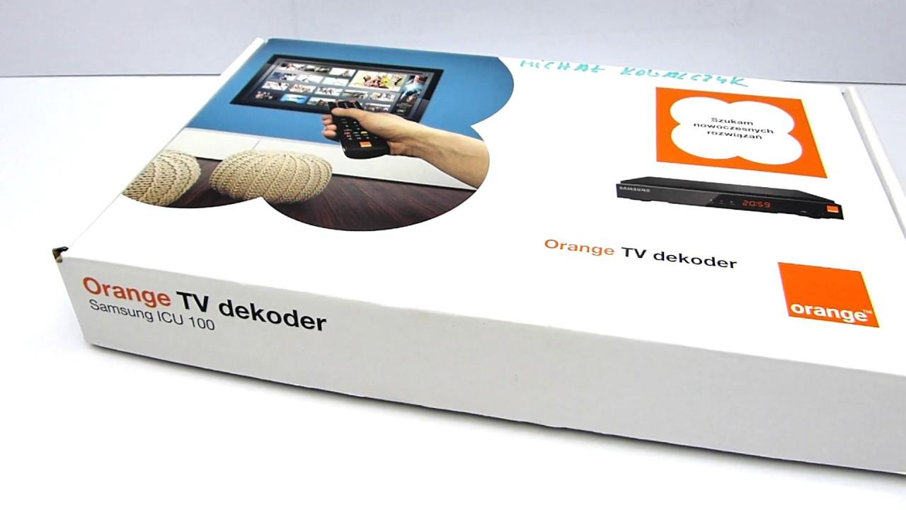 orange tv samsung icu 100 demo preview youtube. Black Bedroom Furniture Sets. Home Design Ideas
