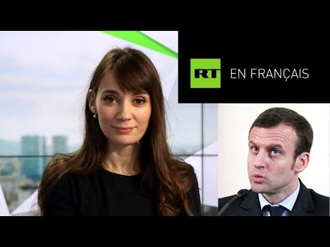 Russia's RT Launches New French-language TV Channel in France; Macron Not Happy At All