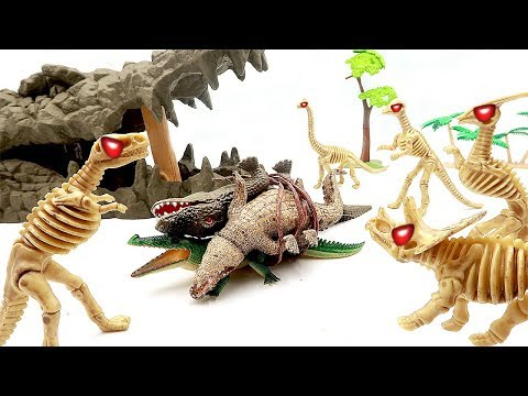 Dinosaur Zombies Episode. Dinosaurs turn into zombies! Get revenge on the Giant crocodile and win!