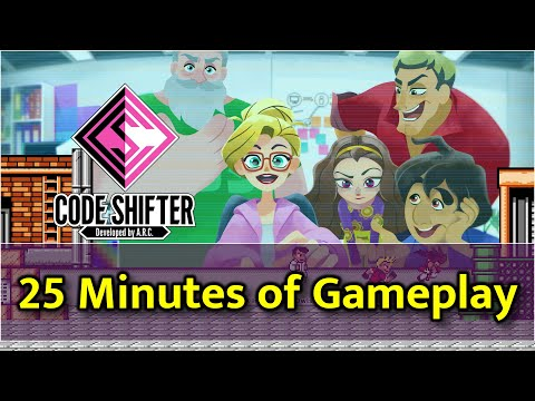 Code Shifter - First 25 Minutes of Gameplay