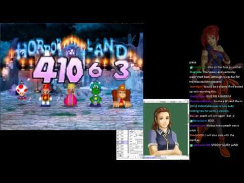 Mario Party 2 Plays as MK404 Draws | Horror Land