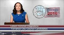 Leilani Kimmel Dagostino for Torrance City Council 2016