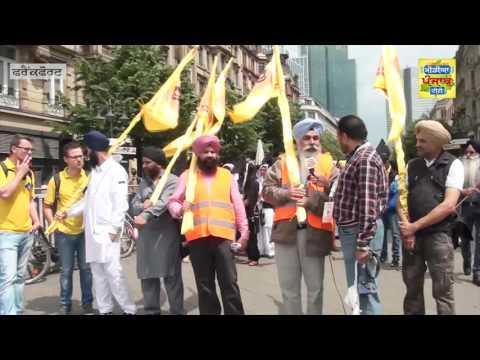 Ros Mujhra  Frankfurt 040616 (Media Punjab TV)