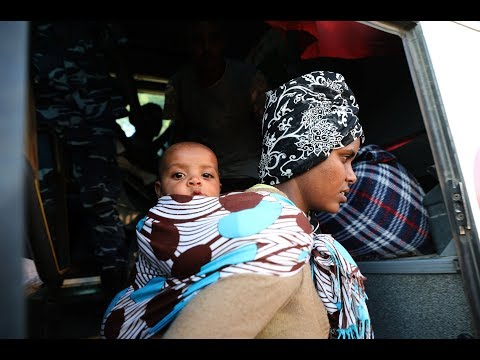 A brutal life for migrants in Libya: trafficking, detention or death en route to Europe