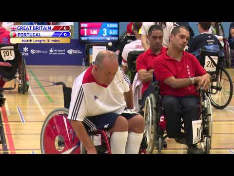 2015 Boccia Europeans - BC1/BC2 Team Semi-Final - GB v Portugal