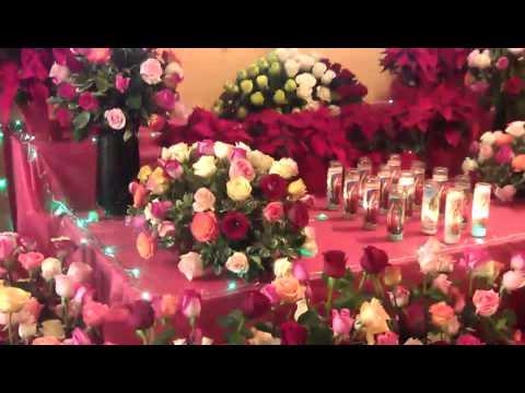 Altar A La Virgen De Guadalupe