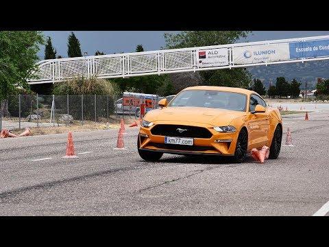 Ford Mustang 2018 - Maniobra De Esquiva (moose Test) Y Eslalon | Km77.com
