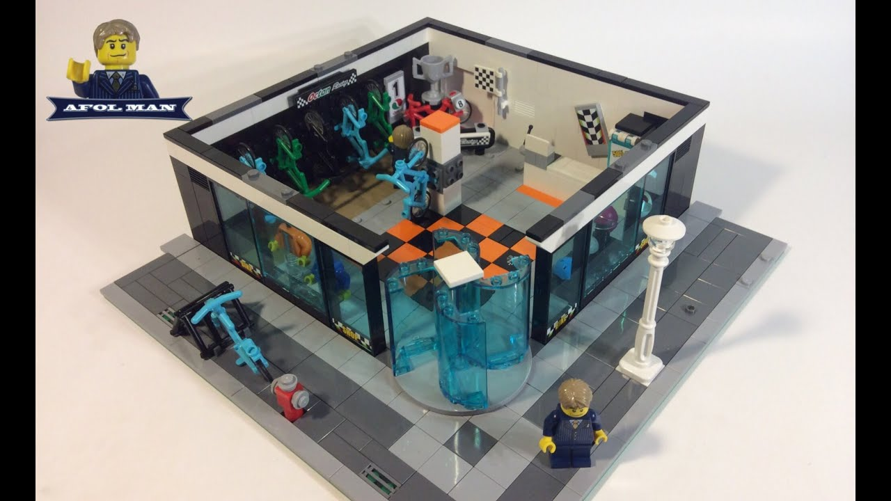 Cool Bedroom Ideas Lego Moc Rebuild Bike Shop Youtube
