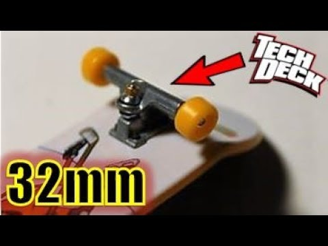 TECH DECK 32MM TRUCKS! Where and How to Find Them