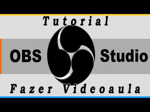 Tutorial: gravando videoaulas