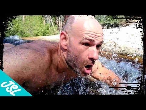 Alder Creek Slide - AWESOME Natural Water Slide in Sequoia National Forest