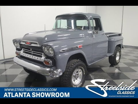 1959 Chevrolet Apache 4x4 For Sale 4329 Atl Youtube