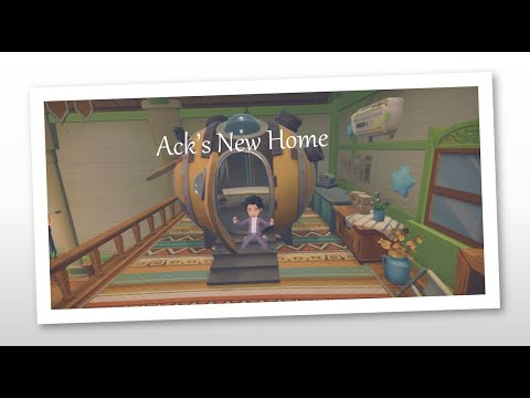 My Time at Portia – A Home for Ack |