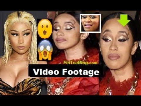 Cardi B Runs Up on Nicki Minaj for Dissing Kulture, Rah Ali was on Bodyguard Duty & did this 👀