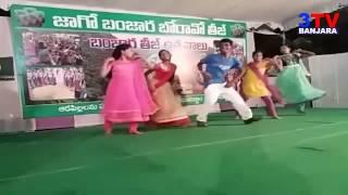 Banjara Boys and Girls Super Dance in Teej  Celebration Kukatpally | Hyderabad | 3TV BANJARA
