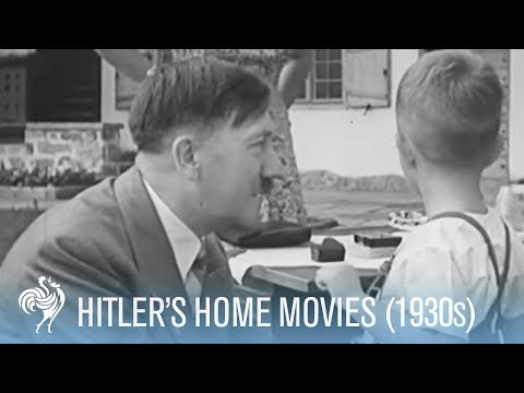 Hitler Dancing and Playing: Found Footage (1930s) | War Archives