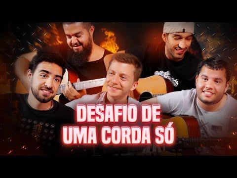 TOCANDO VIOLÃO COM UMA CORDA part Gustavo Bertoni  DESAFIO 3