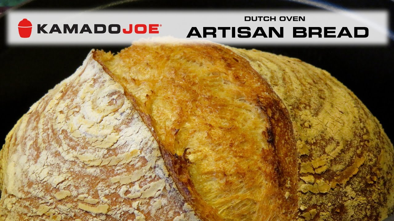 Kamado Joe Dutch Oven Artisan Bread