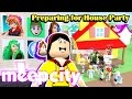 MeepCity - Preparing for House Warming Party~!! - DOLLASTIC PLAYS - Roblox Roleplay Tycoon Gameplay