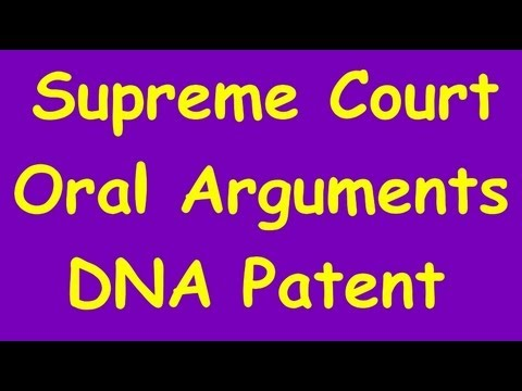 Supreme Court DNA patent case