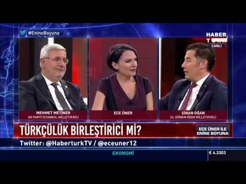"""Sinan Oğan Ekranlarda Ders Gibi Anlattı: """"Kerkük Türkmen Bir Şehridir!"""""""