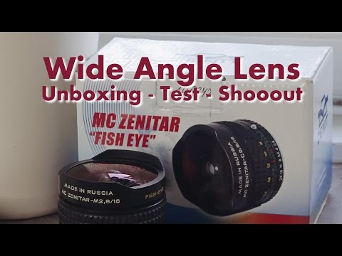 Zenitar 16mm F2.8 - Unboxing, Test And Shootout