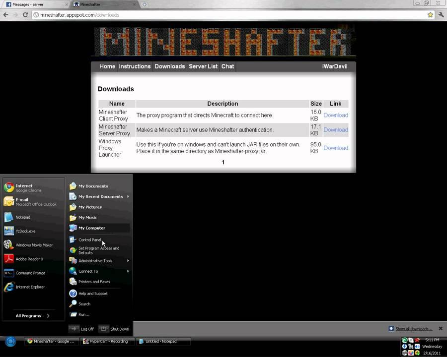 Сервер бендера скачать лаунчер регистрация
