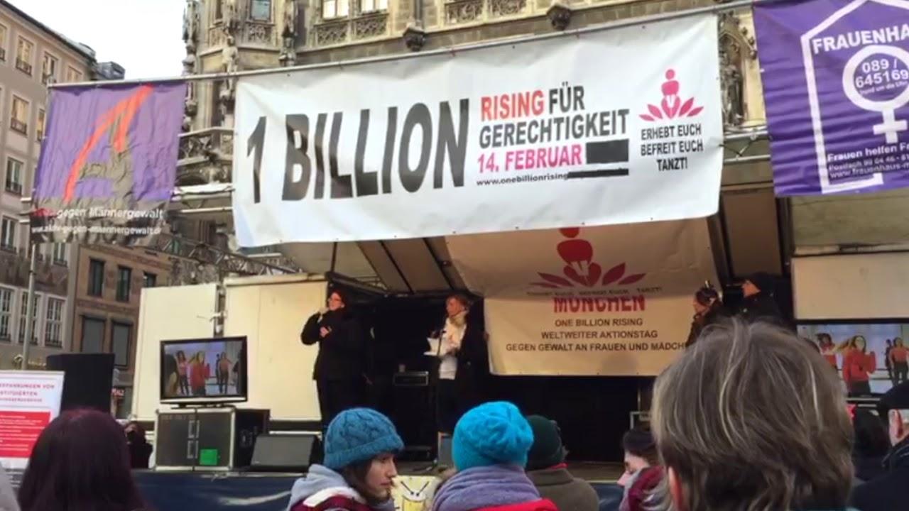Die Redebeiträge von One Billion Rising 2018 zur Nachlese