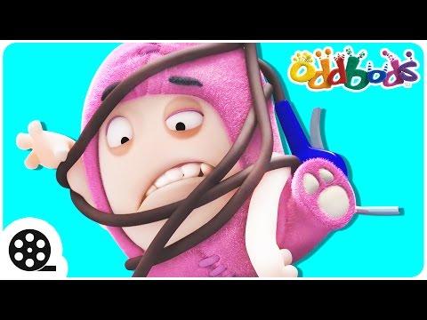 Cartoon  A TANGLED TALE Of Oddbods  Funny Cartoons For Children