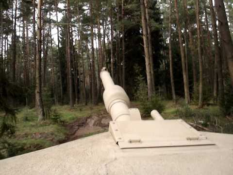 Tear-assing through the woods in an M1A1 Abrams Main Battle Tank