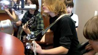 Plowboy - A phenom kids rock band plays the Indieverse Studios! The song is Butterfly Tattoo