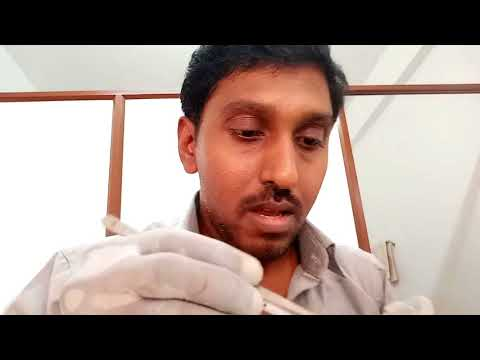 Dentist attempts RCT in his own tooth   !!!