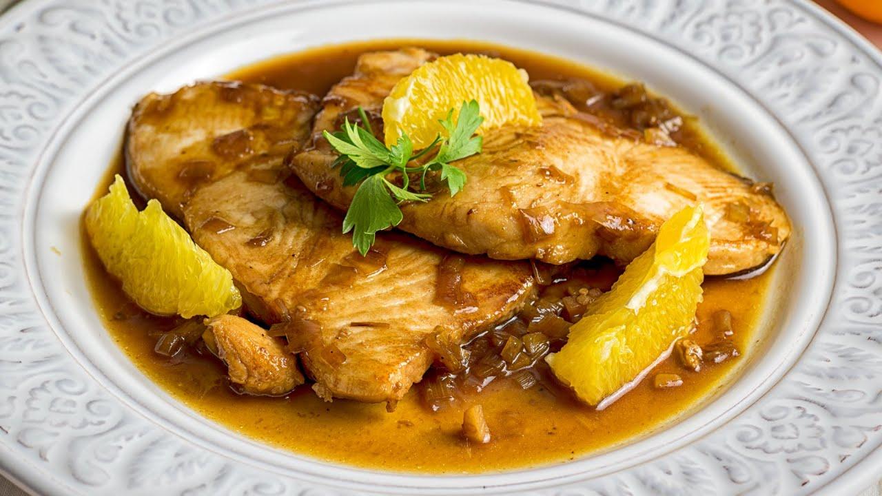 Una receta de Pescado con salsa de naranja ¡lista en 15 minutos!