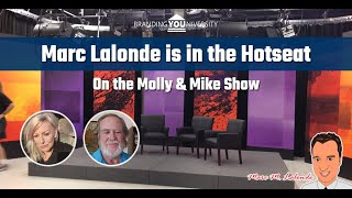 🔥 Marc Lalonde (The Wealthy Trainer) in the Hotseat on the Mike and Molly Show!