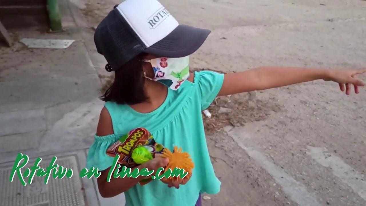 Sofía Juega por primera vez trompo #Rotativoninos #Youtubekids