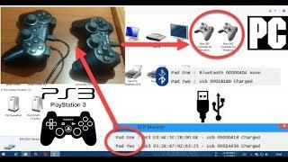 Conecta 2 mandos de ps3 al PC via usb/bluetooth || Instalacion, soluciones y desinstalacion [SCP]