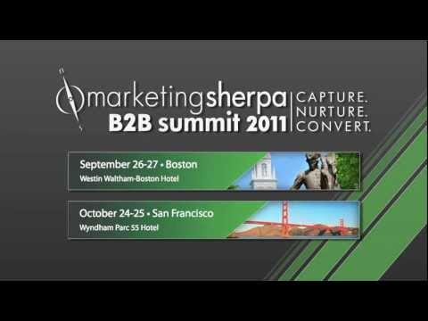 Dr. Flint McGlaughlin Invitation to Attend B2B Summit 2011
