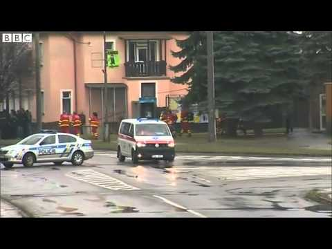BBC News   Czech Republic shooting  Gunman kills eight