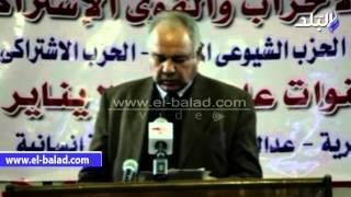 بالفيديو والصور.. أحمد بهاء شعبان: البعد الأمنى غير كاف لمواجهة الإرهاب