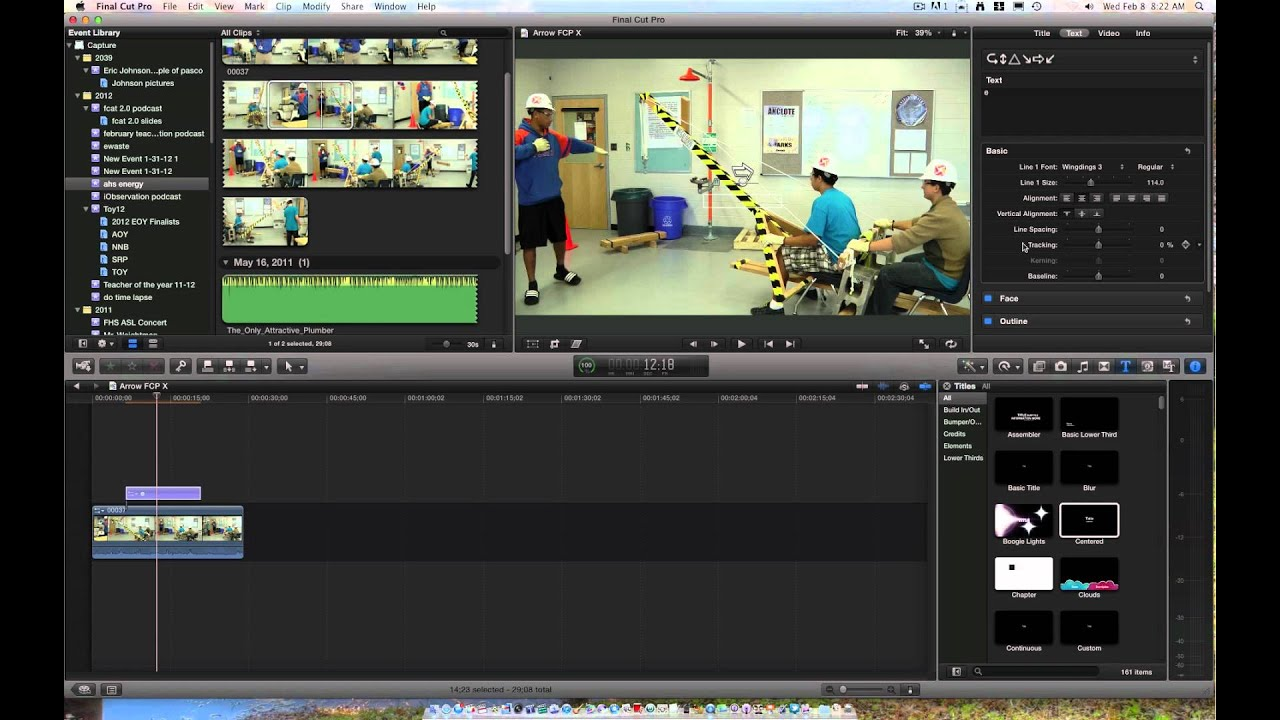 Drawing Lines In Final Cut Pro : How to add an arrow final cut pro youtube