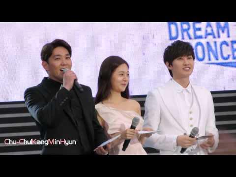 【Chu-CKMH】140607 Dream Concert Kangin Eunhyuk MC Part.1