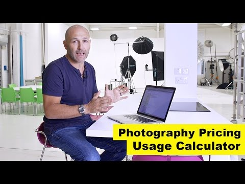 Using the photography 'usage calculator' to price your work