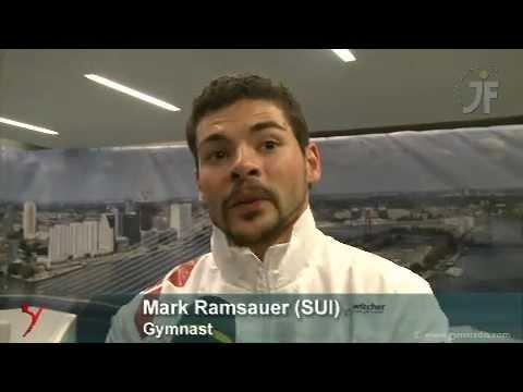 Im Interview: Mark RAMSAUER, Roman GISI (SUI)