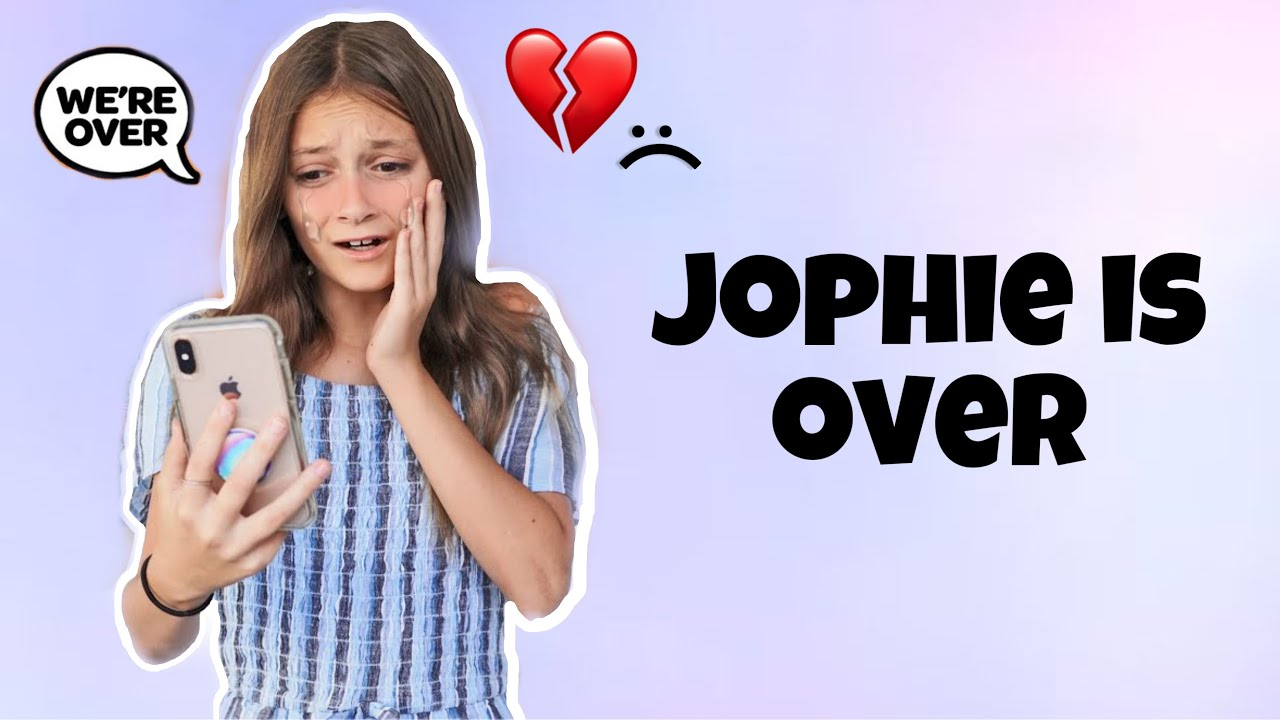 JOPHIE IS OVER AND SOPHIE LEFT THE SQUAD *THEY BROKE UP* 💔   Sophie Fergi, Jentzen Ramirez