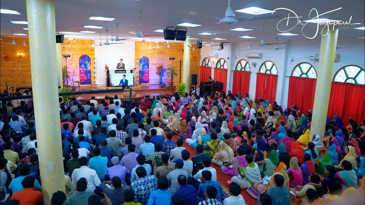 Live - Telugu Worship   The Calvary Church Chennai   10-02-2019   Dr Jayapaul